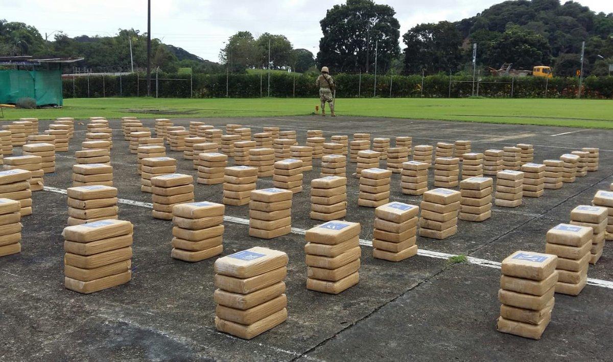 Incautan 698 paquetes de droga en Isla Taboga