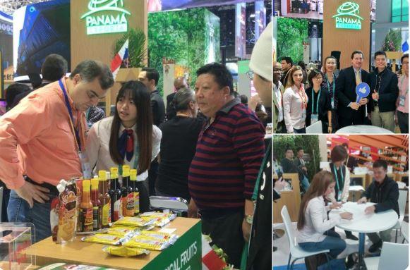 Más filiales panameñas firman memorandos para exportar hacia China