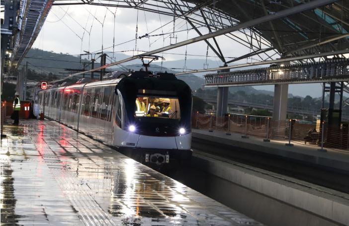Línea 2 del Metro será puesta en marcha en mayo