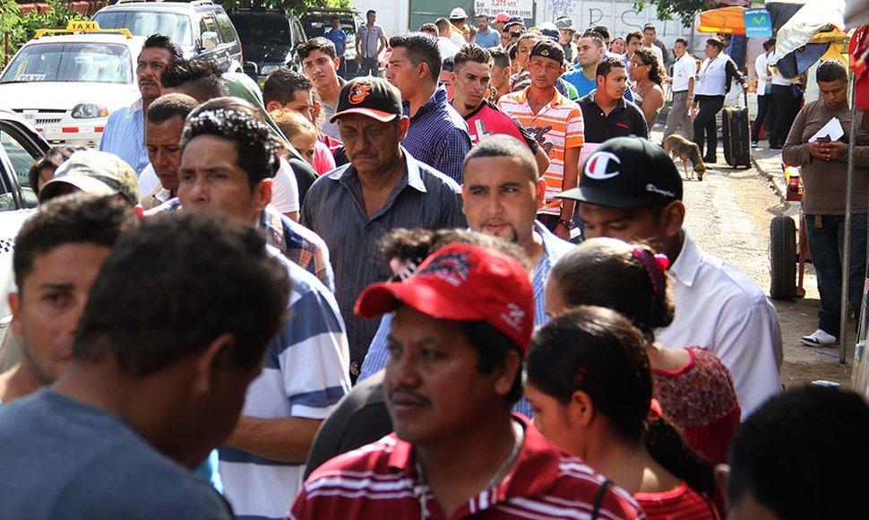 Hasta octubre de este año,  Panamá deportó más de  800 nicaragüenses