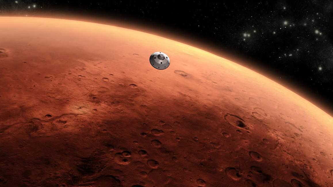 La NASA escoge un antiguo delta de Marte para buscar evidencias de vida