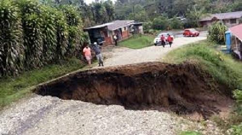 Red Sismológica: Deslizamientos en Costa Rica y Renacimiento no tienen que ver con el Volcán Barú