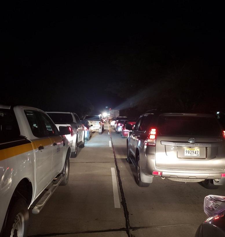 Cuatro heridos deja accidente de tránsito en la Vía Interamericana, a la altura de Sajalices