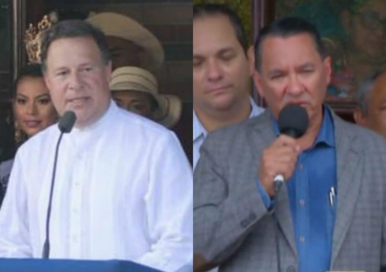 """El presidente Varela y el alcalde de La Villa """"Pany"""" Pérez se enfrentan en Twitter"""