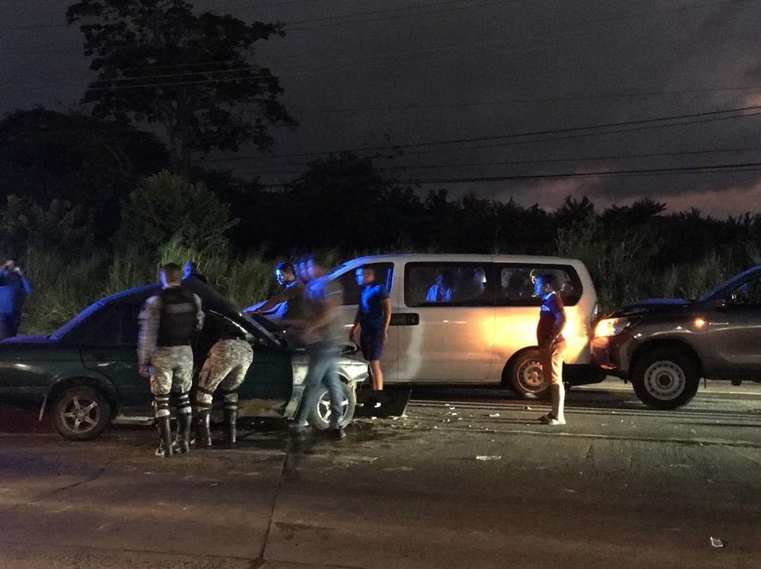Se reporta accidente en Capira hay tres personas heridas