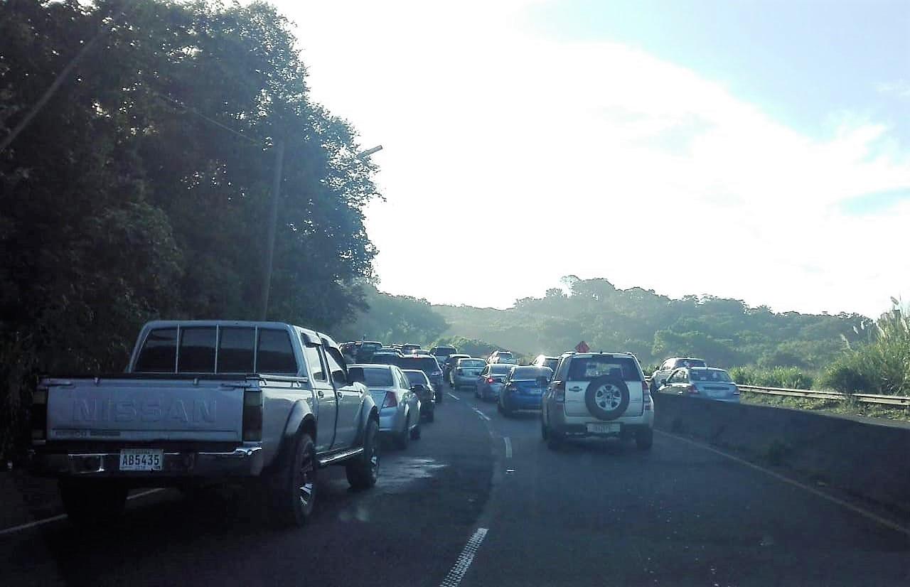 Colapso en Loma Cová complica el retorno a Panamá Oeste