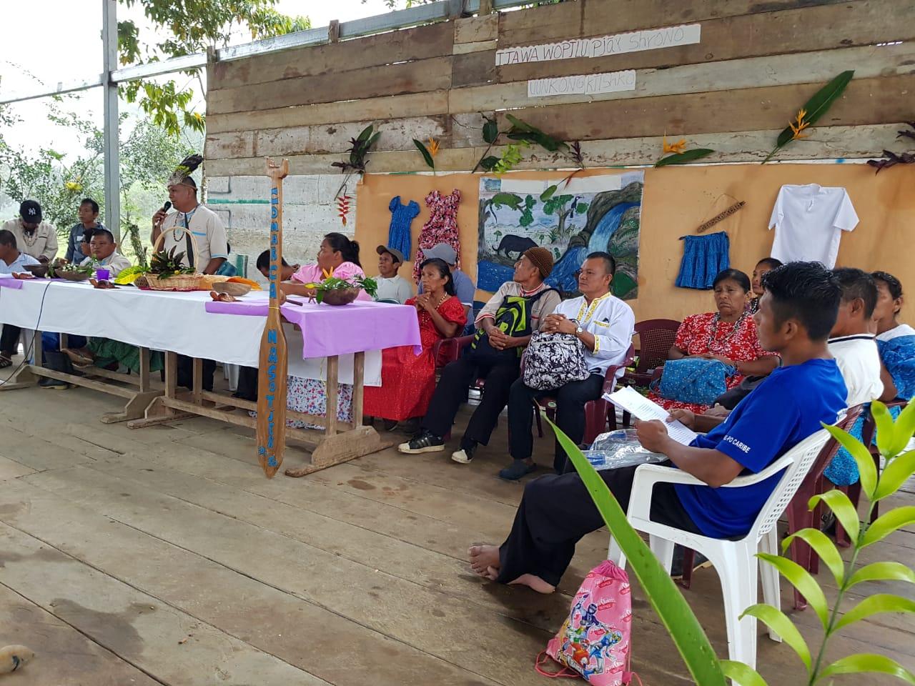 Pueblos indígenas apoyan creación de la Comarca Naso