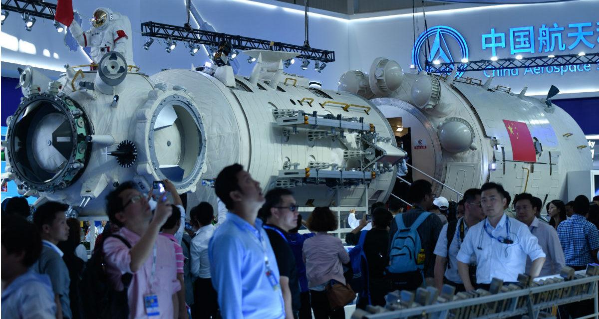 China presenta su futura estación espacial
