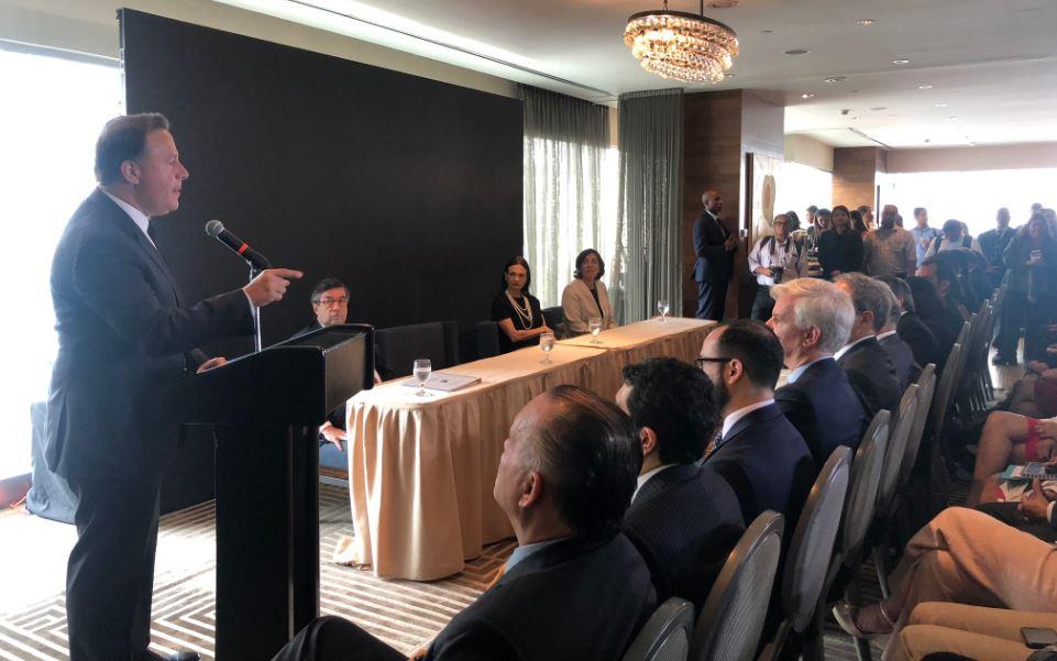 Varela asegura que Gobierno ha recuperado $400 millones en lucha contra corrupción