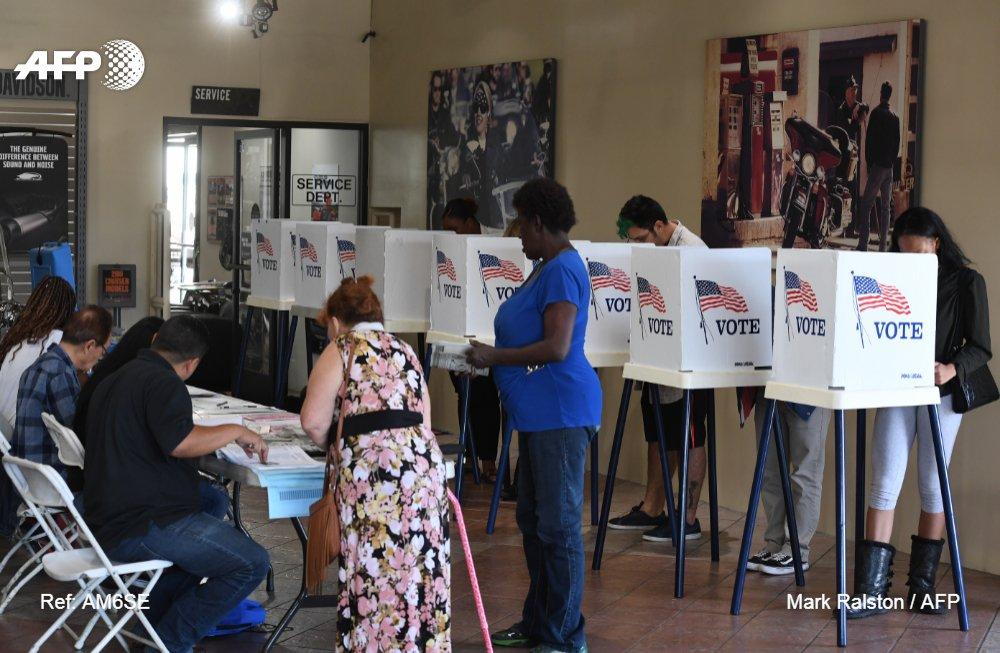 Elecciones en EE.UU.: cierran primeras mesas de votación