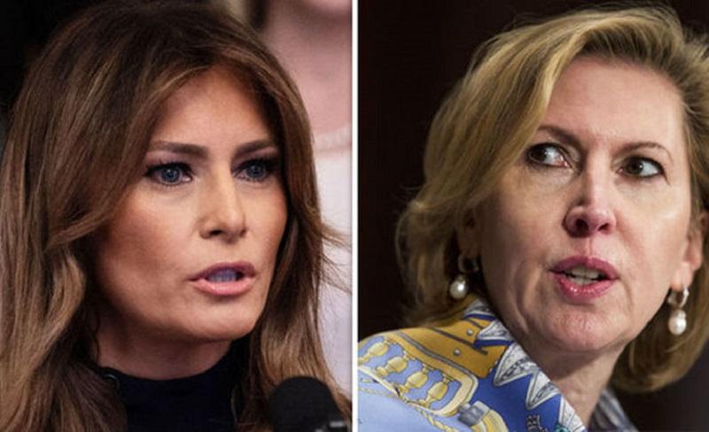 Funcionaria criticada por Melania Trump es retirada de su cargo