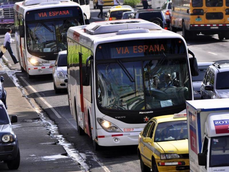 Mantendrán ruta de buses habilitada al aeropuerto de Tocumen
