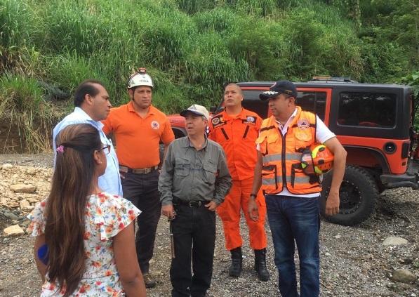 Sinaproc y  Geociencias inician gira de inspección por grietas en Breñón