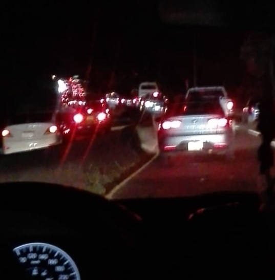 Se registra accidente de tránsito en la vía Puente de las Américas, a la altura de Howard