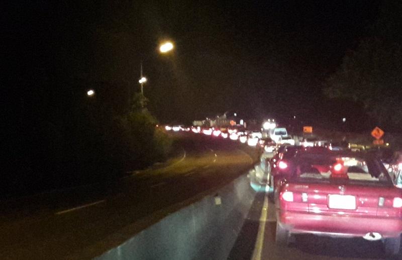 Panameños estallan en Twitter: autos en Vía Panamericana se movilizan a 5km/hora