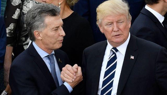 Trump se reúne con Macri y rinde homenaje al padre del mandatario