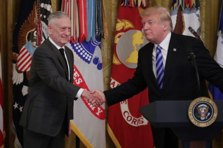 El secretario de Defensa de Estados Unidos renuncia al cargo