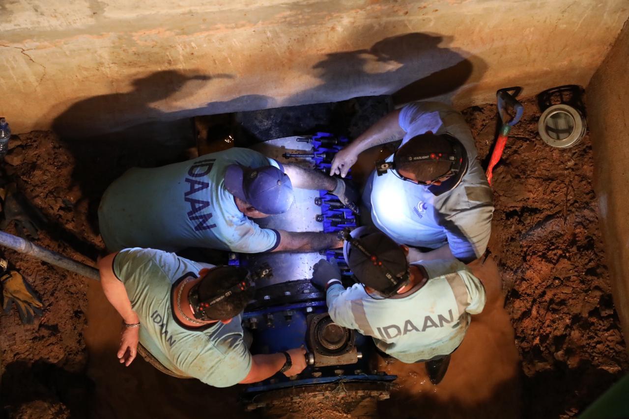 Reinician operaciones en la planta potabilizadora de Chilibre