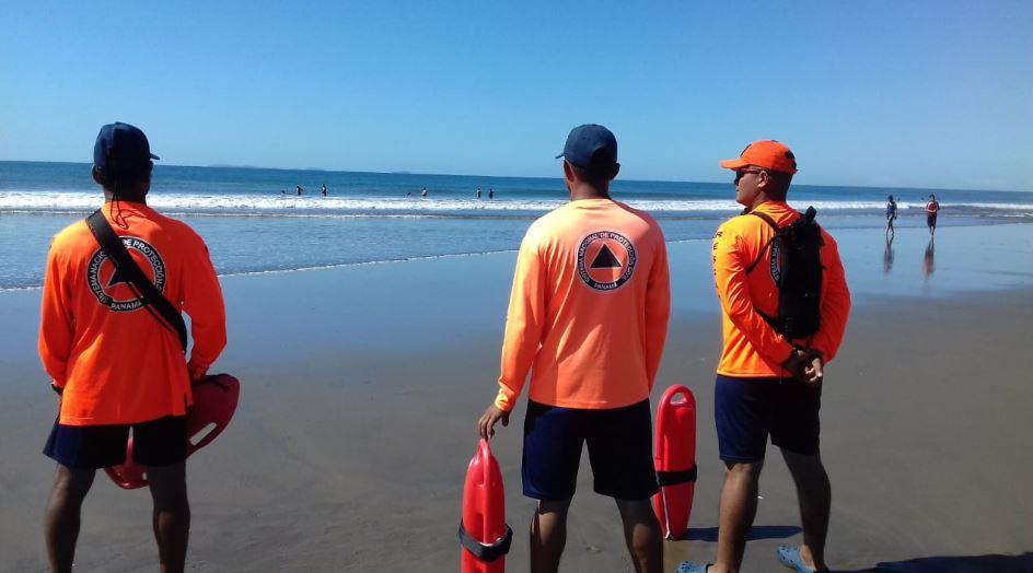 Sinaproc emite aviso de prevención por marea alta en el Pacífico