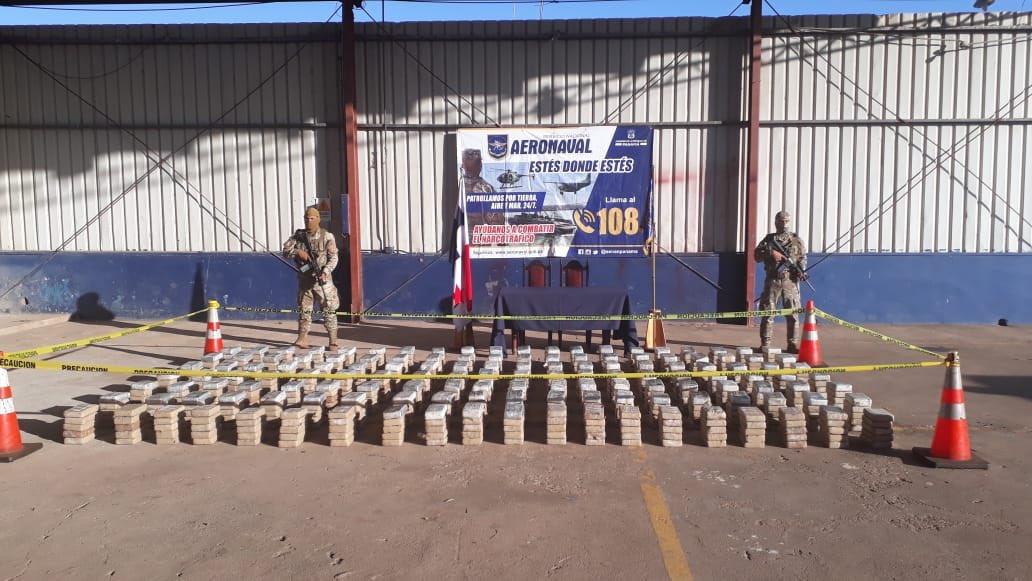 Incautan 700 paquetes de presunta droga en Chiriquí, los delincuentes huyen