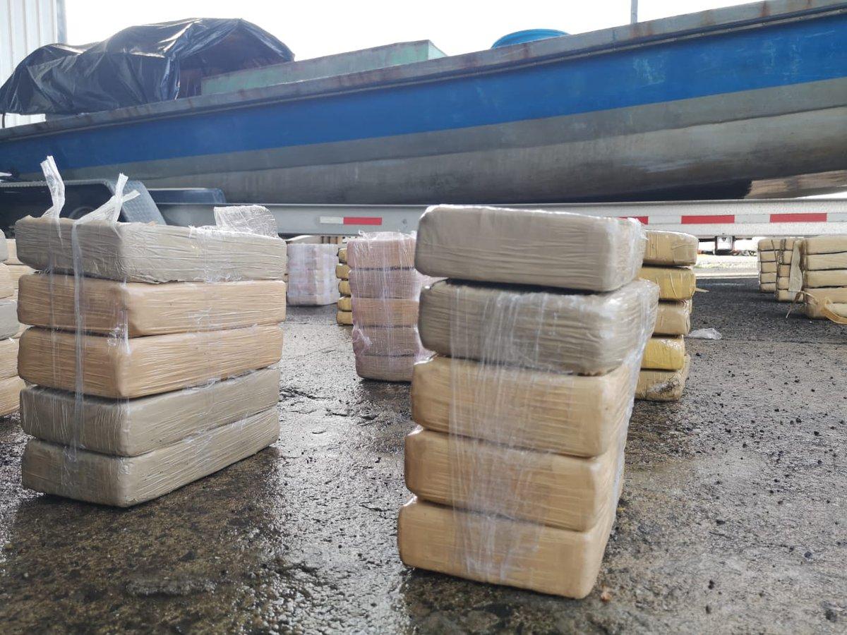 Decomisan 833 paquetes de presunta droga en Guna Yala