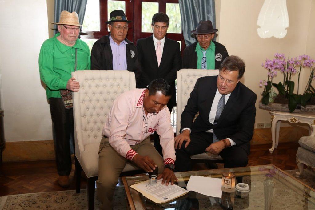 Firman resolución para trabajos de interconexión eléctrica entre Panamá y Colombia