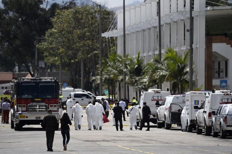 Atentado deja nueve muertos y 54 heridos en Bogotá