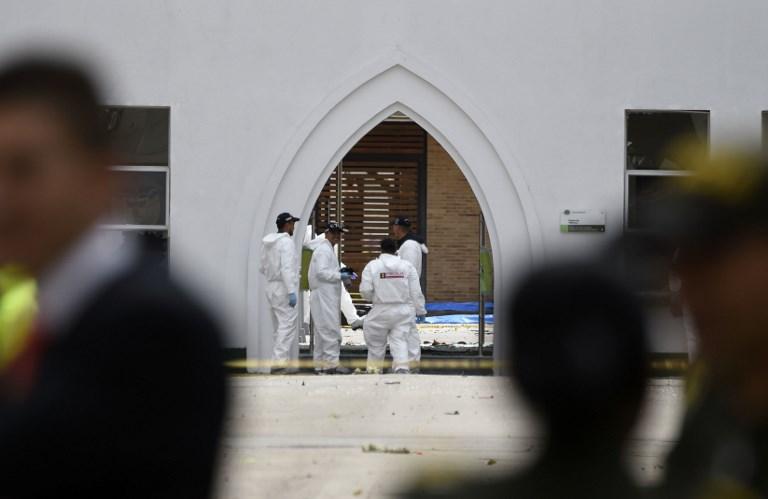 Duelo en Colombia por coche bomba que deja 21 muertos en academia policial