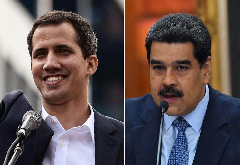 """Maduro pide investigar penalmente a Guaidó por """"negociar"""" zona reclamada a Guyana"""