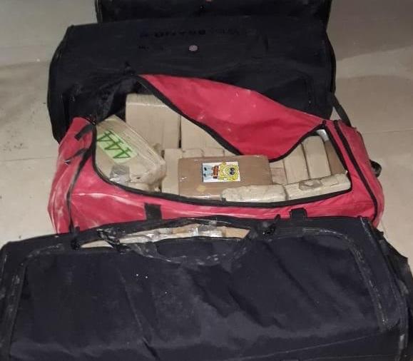 Decomisan 175 paquetes de presunta droga en Colón