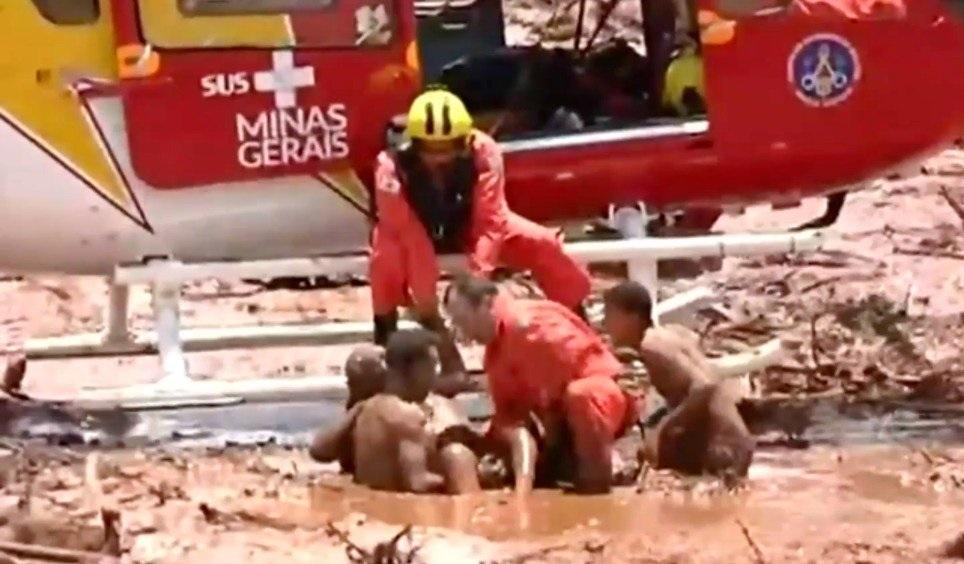 """Ruptura de dique minero en Brasil, hay """"varios muertos"""""""