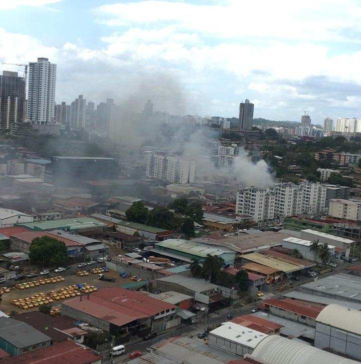 Controlan incendio registrado en Río Abajo