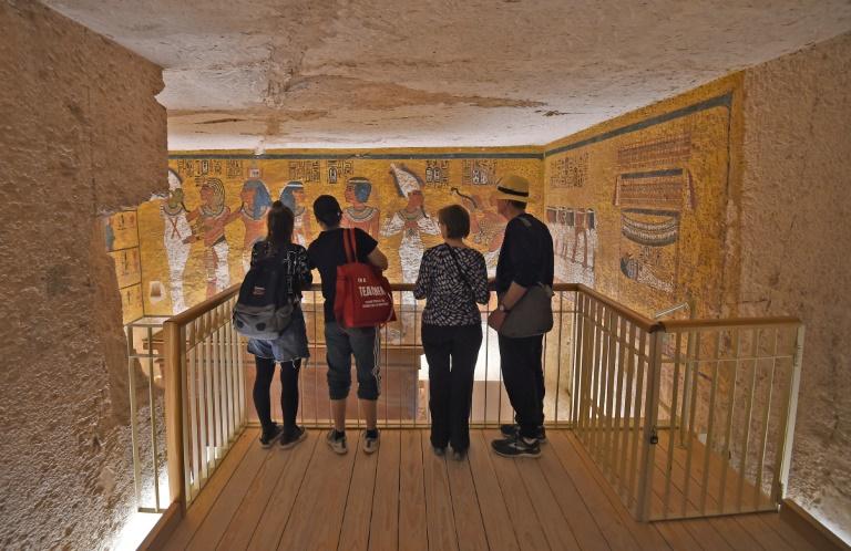 Salvar la tumba de Tutankamón del turismo de masas, un desafío para la ciencia