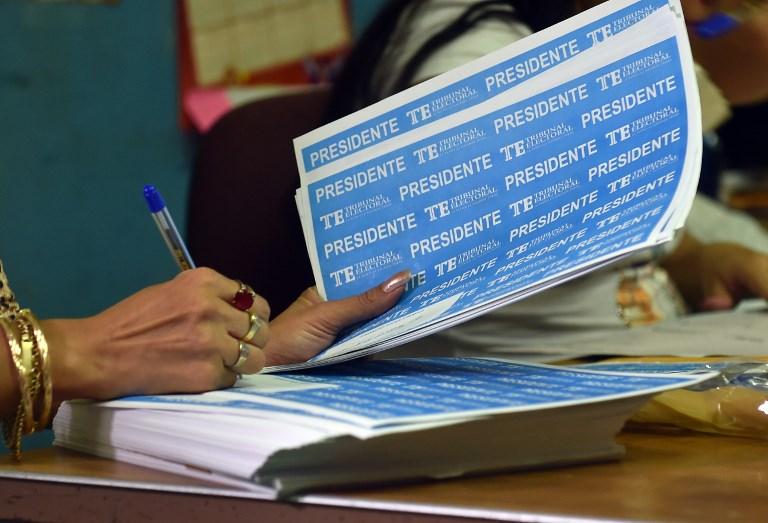 Candidatos independientes a la Presidencia conocerán su número en la papeleta este lunes