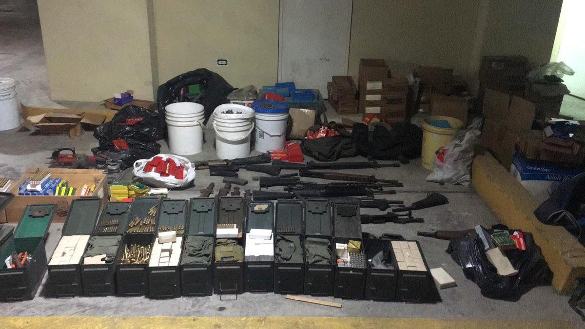 Escopetas y municiones son decomisadas en Vía Ricardo J. Alfaro