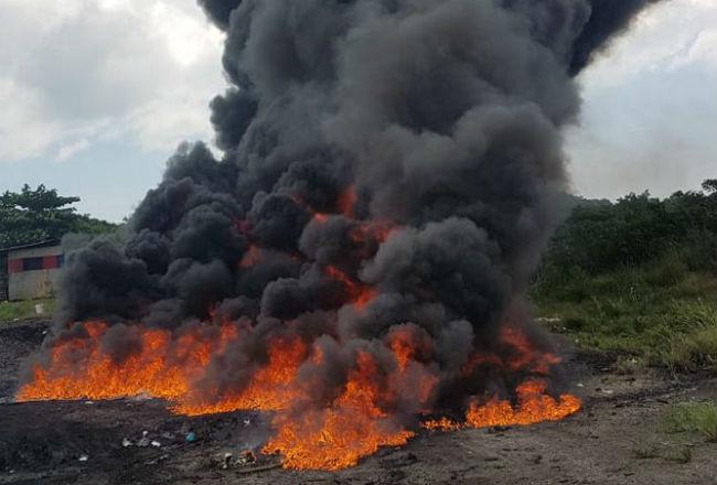 Policía Nacional destruyó en 2018 más de 66 toneladas de drogas