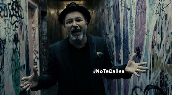 """""""No te calles"""" y pelea contra la corrupción, pide Ruben Blades"""