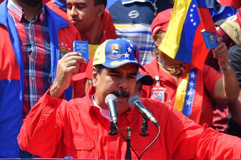 Maduro anuncia acuerdo con Cruz Roja para envío de ayuda humanitaria a Venezuela