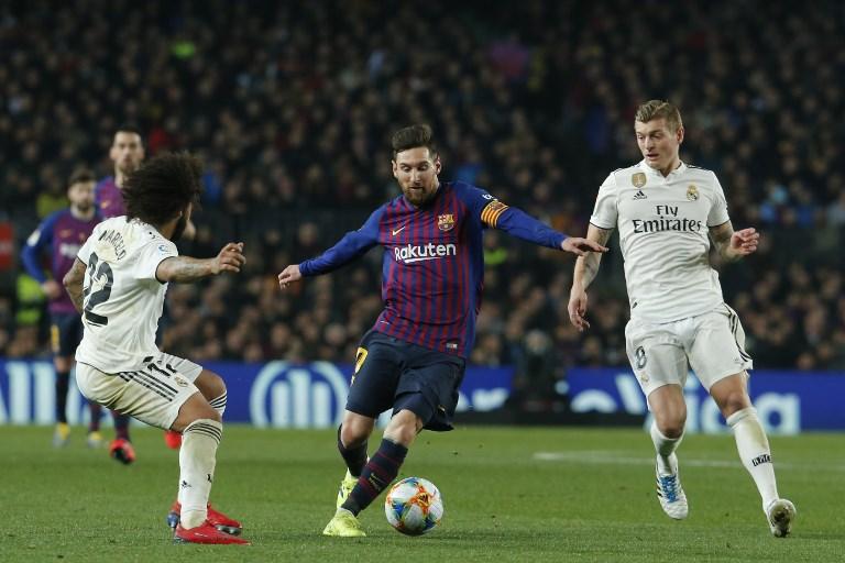 Real Madrid y Barcelona empatan 1-1 y dejan abierta la semifinal de Copa del Rey