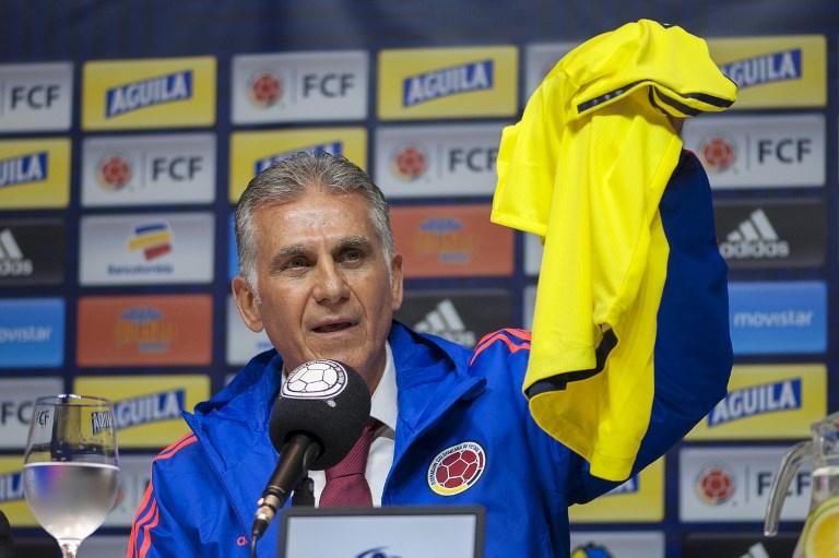 Carlos Queiroz, nuevo DT de una Colombia ávida de gloria