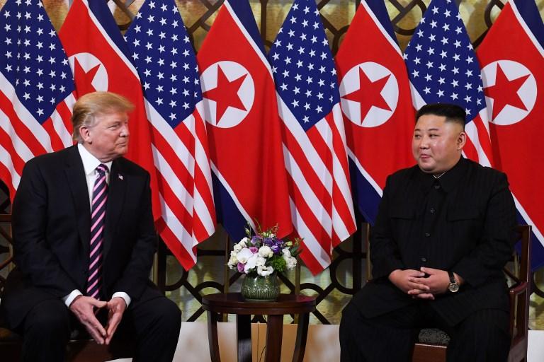 Trump y Kim optimistas al inicio de su cumbre en Vietnam