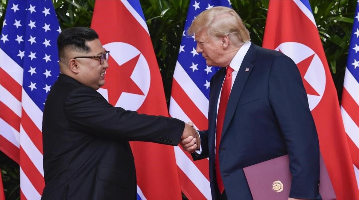 Trump dice que Kim Jong Un se disculpó por las pruebas de misiles