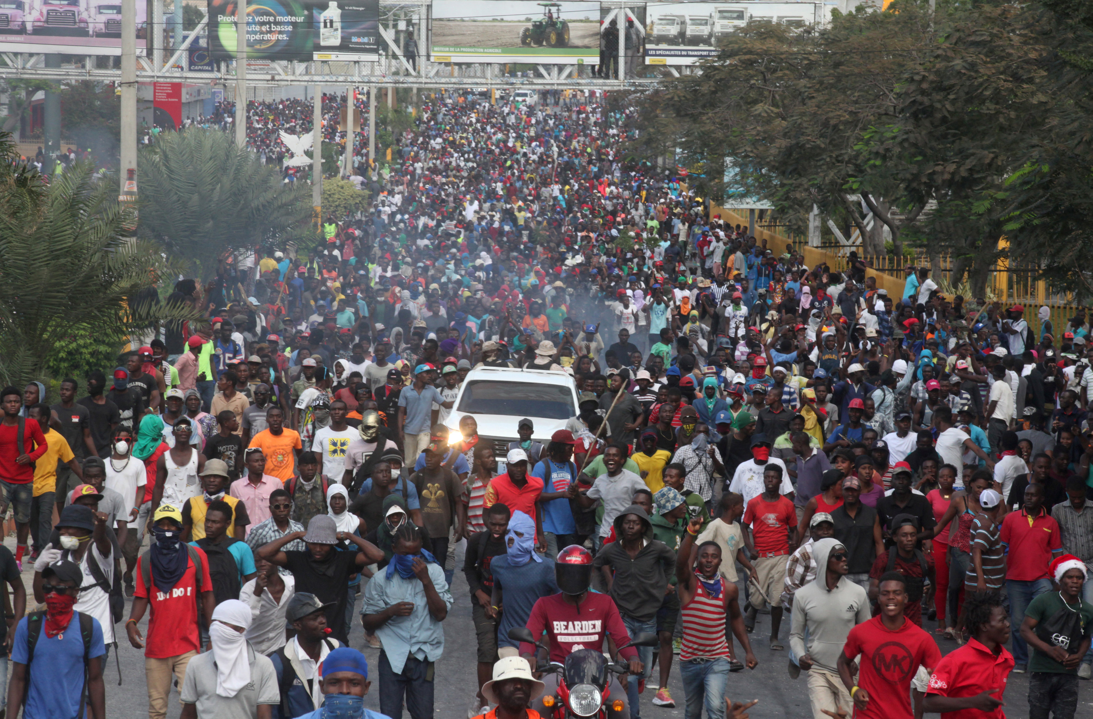 Presidente de Haití rompe silencio tras semana de mortales disturbios