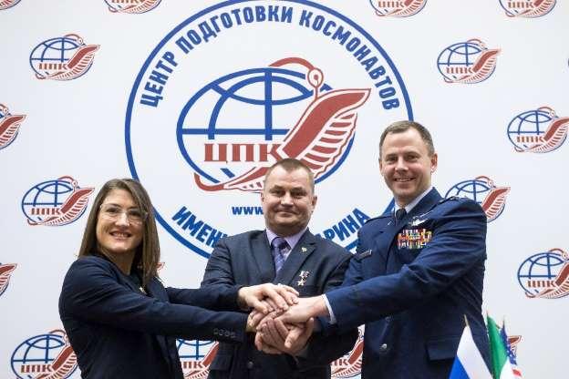 Dos astronautas listos para volar hacia la ISS tras un lanzamiento fallido