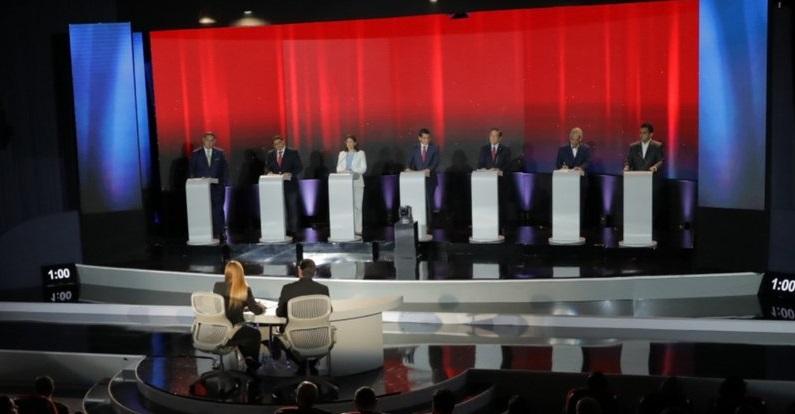 Tercer debate presidencial se realizará este miércoles a las 8:00 p.m.