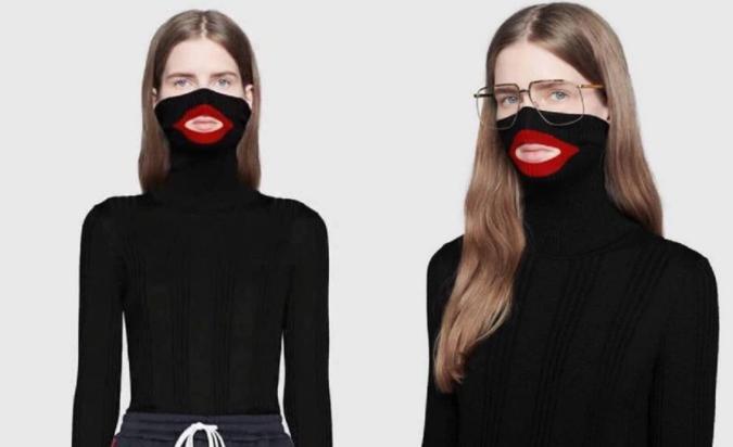 Gucci retira un suéter negro con labios rojos tras ser acusado de racismo