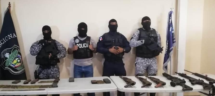 Decomisan 18 armas de fuego tras operativo policial