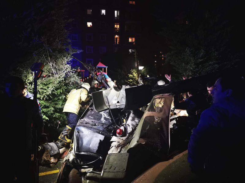 Cuatro muertos en el accidente de un helicóptero militar en Estambul