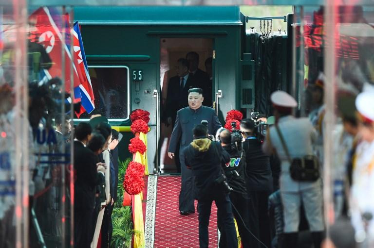 Kim Jong Un llega a Hanói para su segunda cumbre con Donald Trump