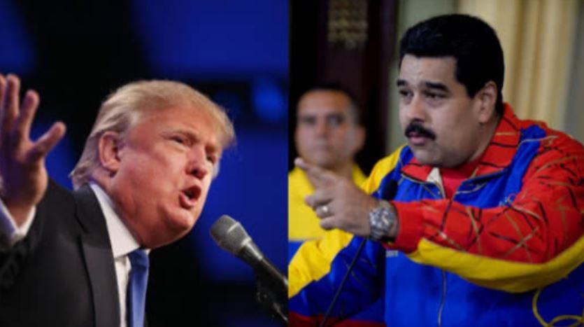 """Maduro se declara """"en batalla"""" contra bloqueo de EEUU a activos de Venezuela"""
